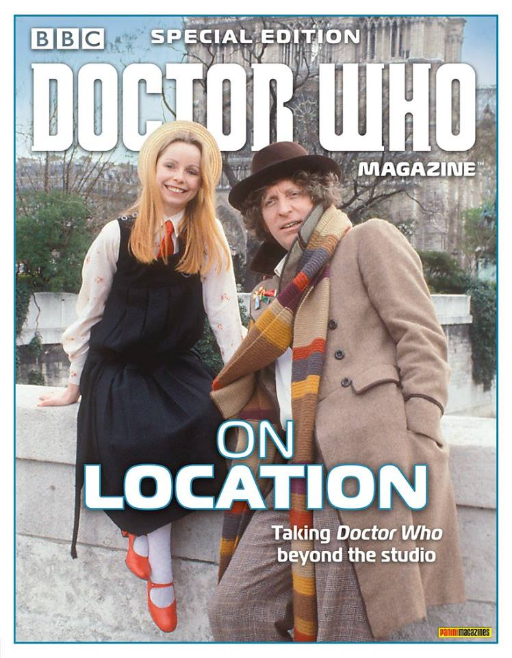 Doctor Who Magazine DWM special edition on location