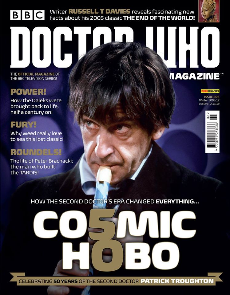 Doctor Who Magazine DWM Issue 506