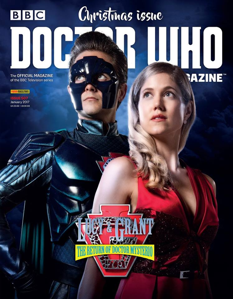 Doctor Who Magazine DWM Issue 507 Christmas 2016 cover