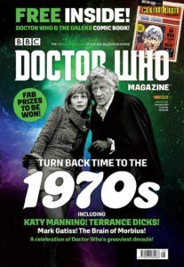 Doctor Who Magazine issue 508 cover