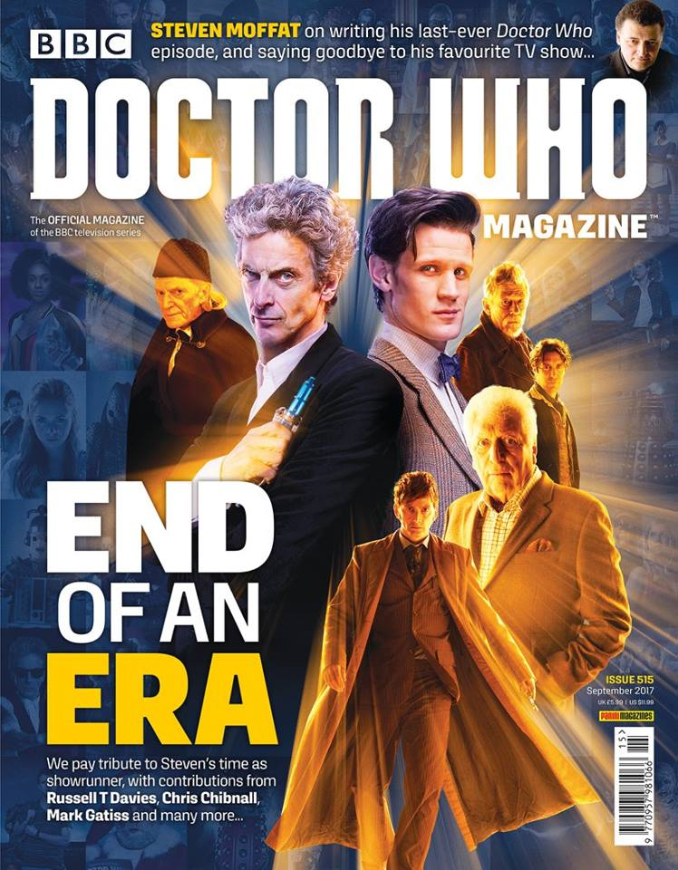Doctor Who Magazine DWM Issue 515