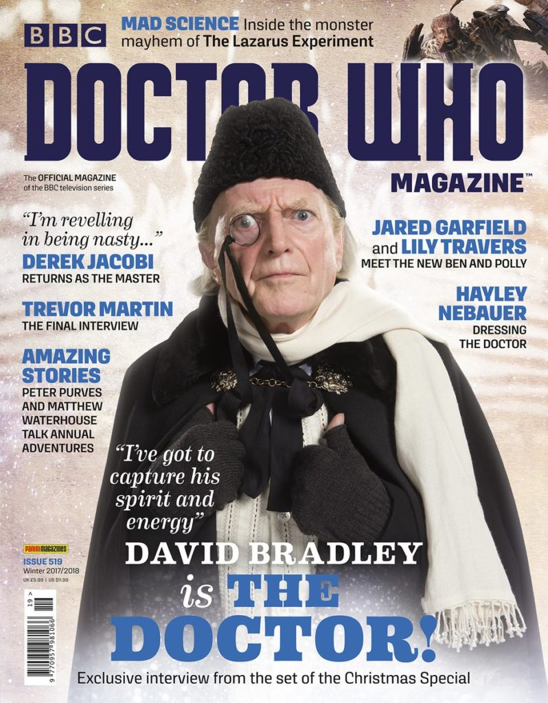 Doctor Who Magazine DWM issue 519