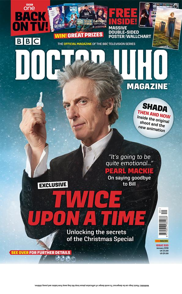 Doctor Who Magazine DWM issue 520